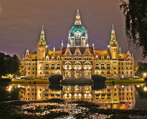 "The ""Neues Rathaus"" in Hannover/Germany"