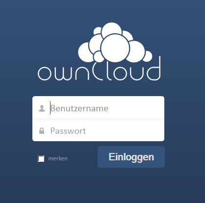 Cloud based on OwnCloud